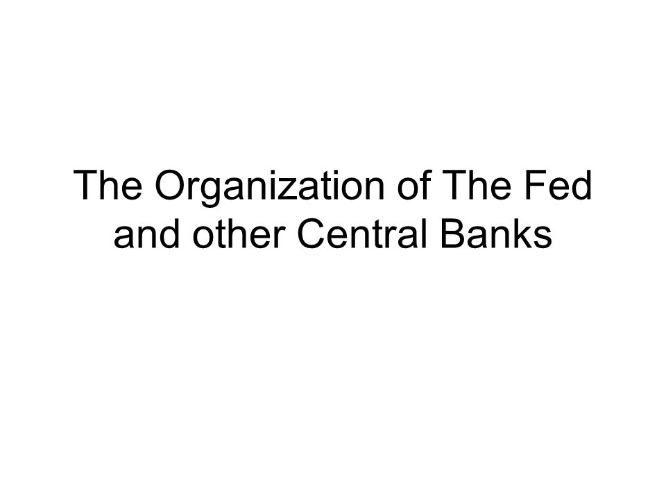 A Brief History of Central Banks A Central Bank is an entity responsible for overseeing a nation's banking system, acting as a lender of last resort, conducting monetary policy, and maintaining currency stability.