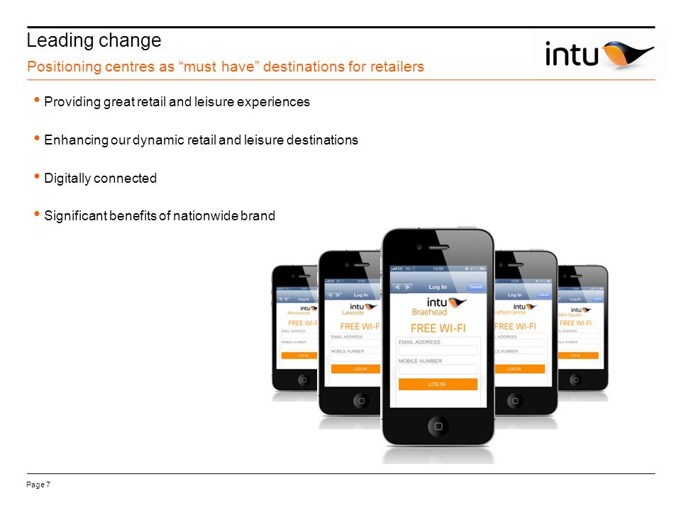intu Trafford Centre Increase in rental tone 2008 to 2012 Page 38 Key 2008 2012