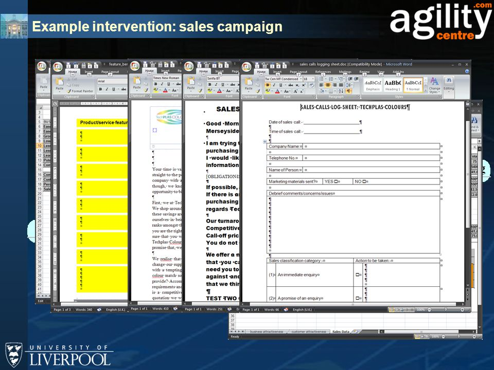 Example intervention: sales campaign 2 1 3 4 5 6 7 8