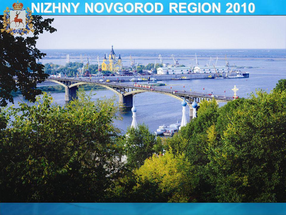 NIZHNY NOVGOROD REGION 2010