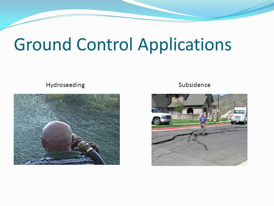 Ground Control Applications HydroseedingSubsidence