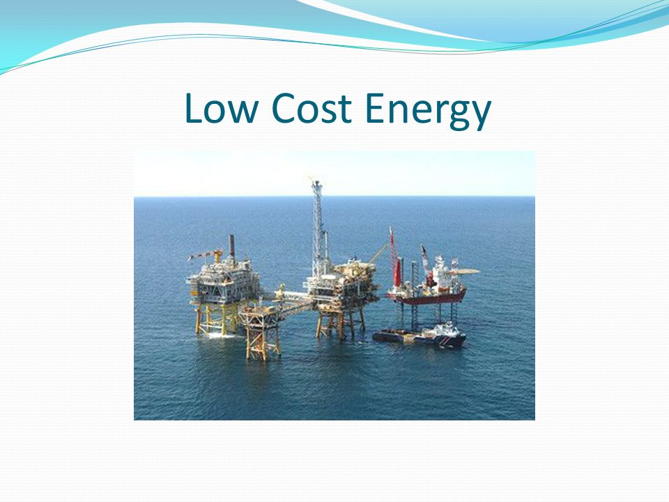 Low Cost Energy