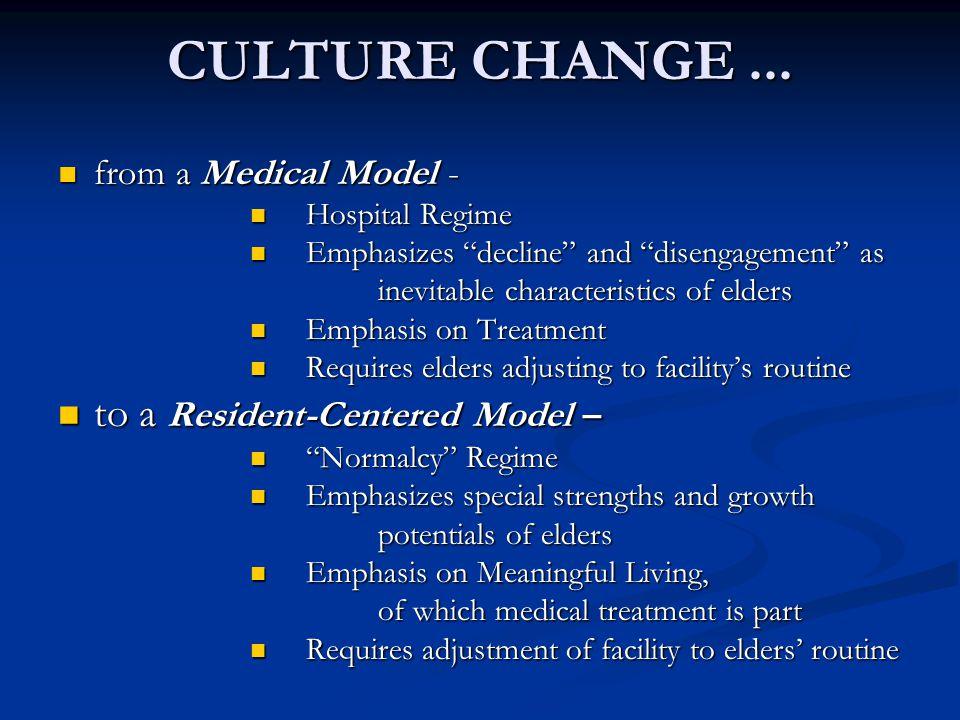 CULTURE CHANGE...