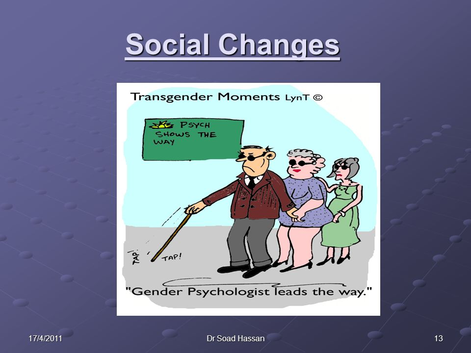 1317/4/2011Dr Soad Hassan Social Changes