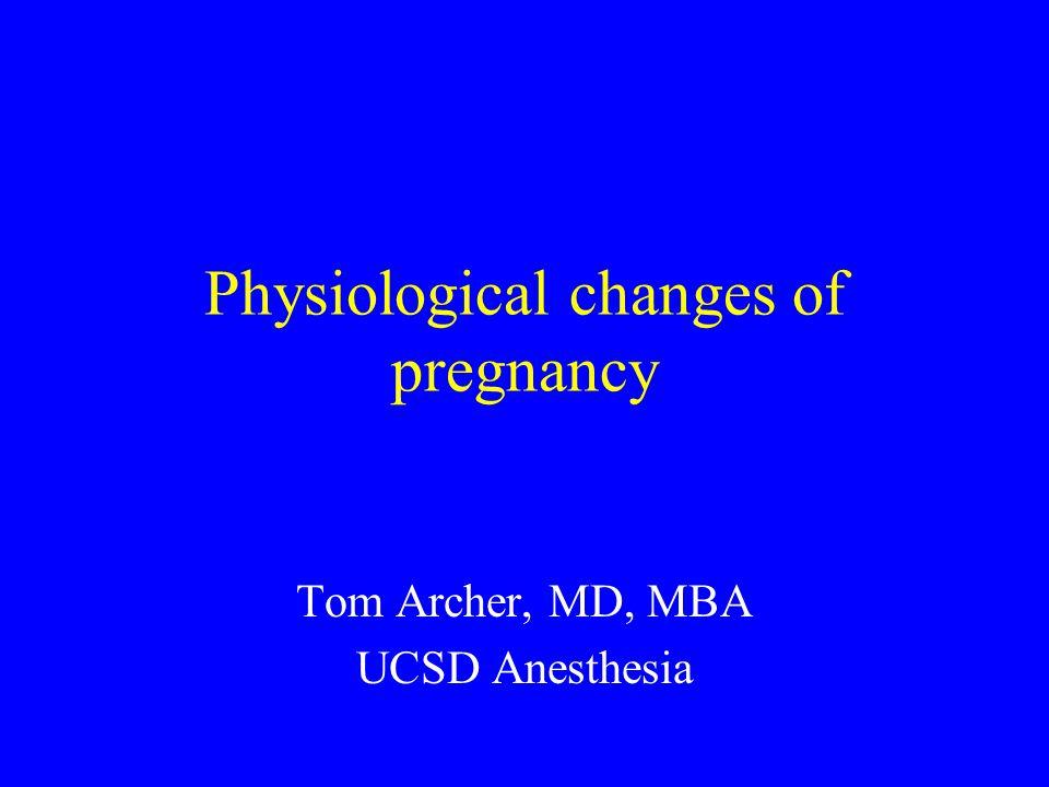 Hematologic changes at term: Fibrinogen increased.