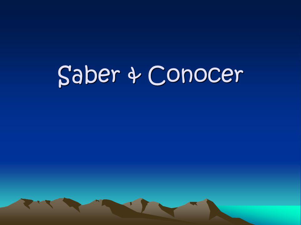 Saber & Conocer