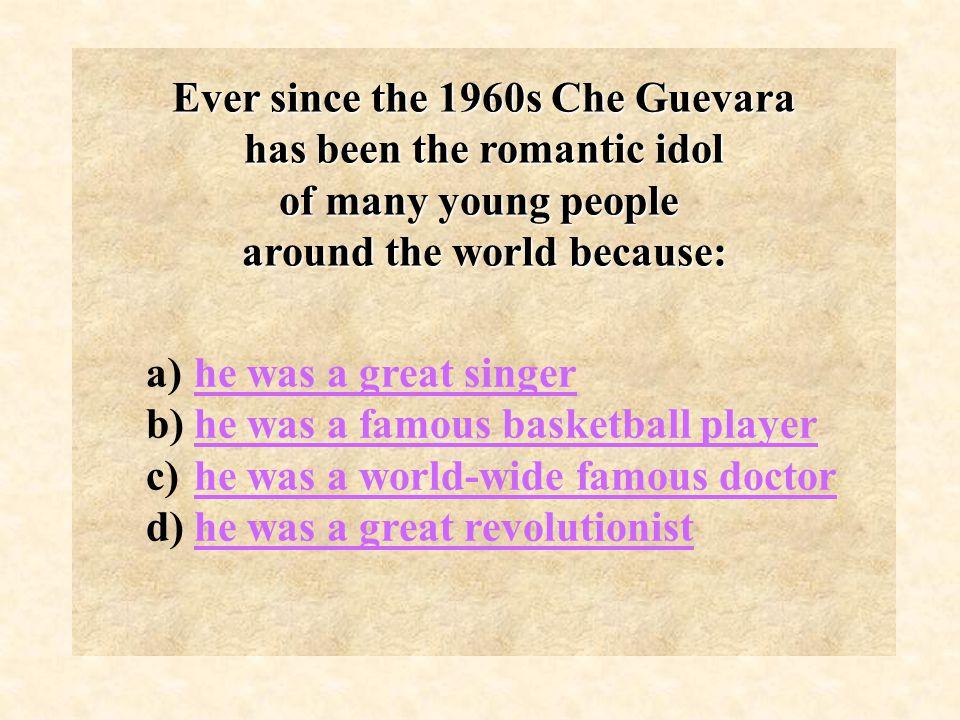 In 1959 he gets a divorce and marries Aleida March de la Torre. He has four children.