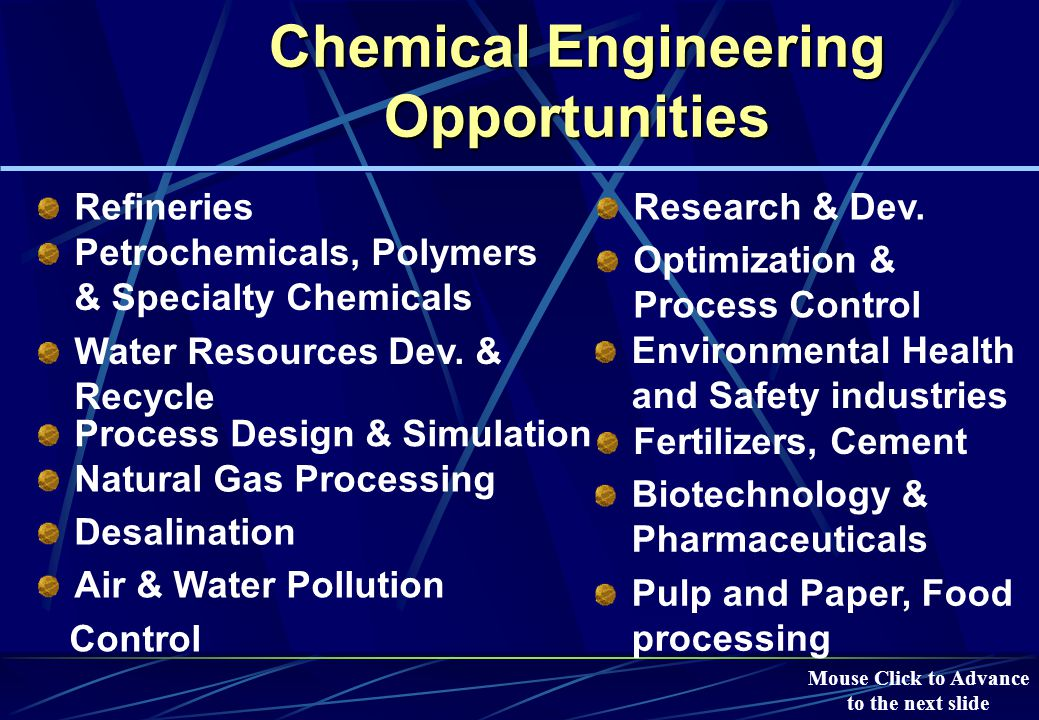 Chemical Engineering at KFUPM (Facilities) -Continued Reaction Kinetics Research lab  RISER Simulator Mouse Click to Advance to the next slide