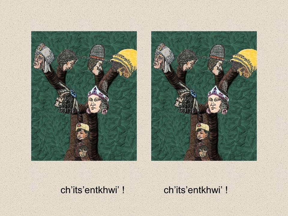 emee'liche' khwe steemilgwes ?