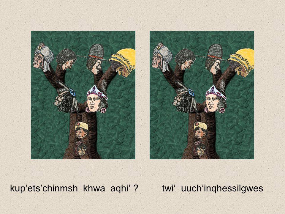 ch'its'entkhwi' !