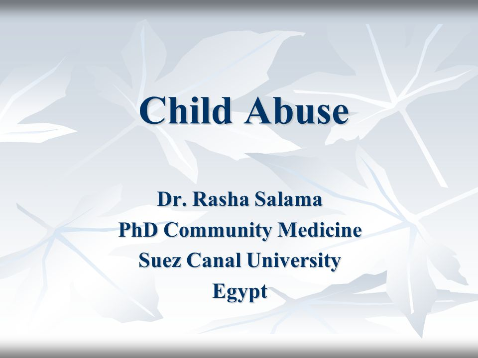 Types of Child Abuse physical abuse sexual abuse emotional abuse neglect