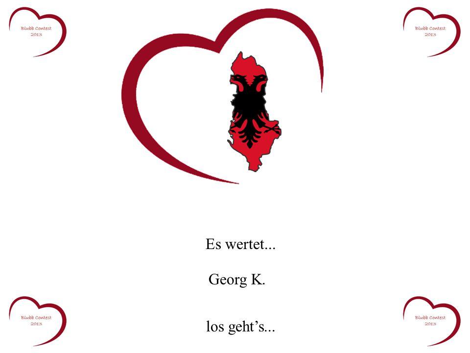 Es wertet... Georg K. los geht's...