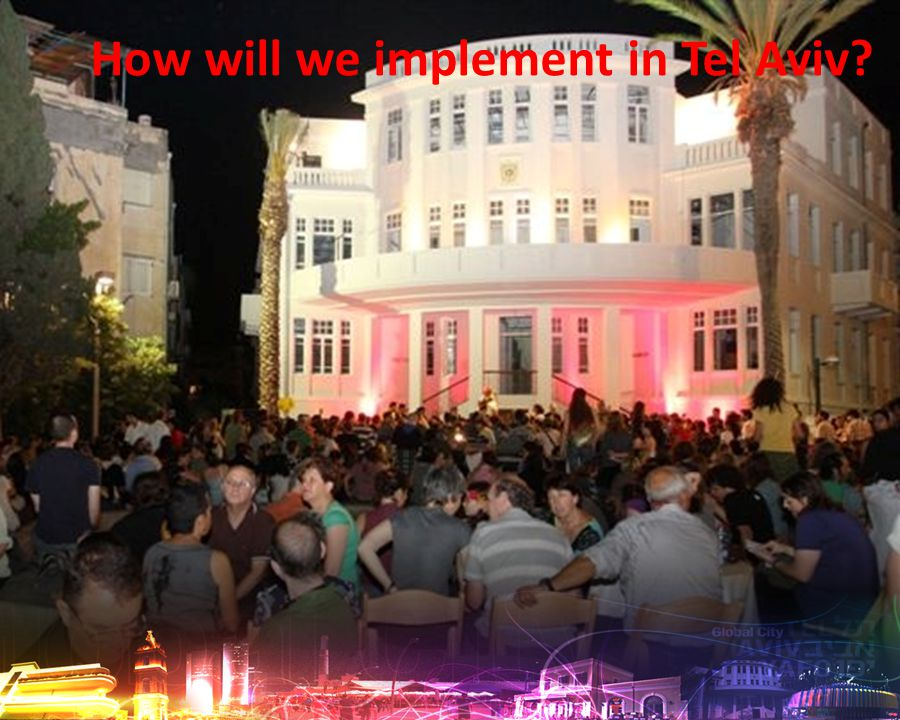 How will we implement in Tel Aviv