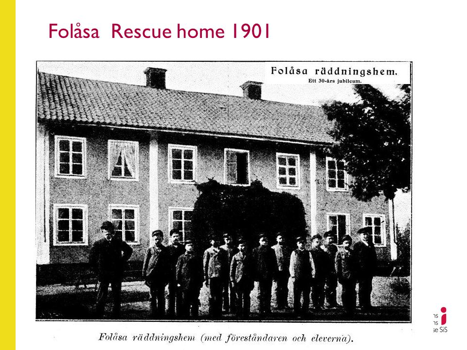 Folåsa Rescue home 1901