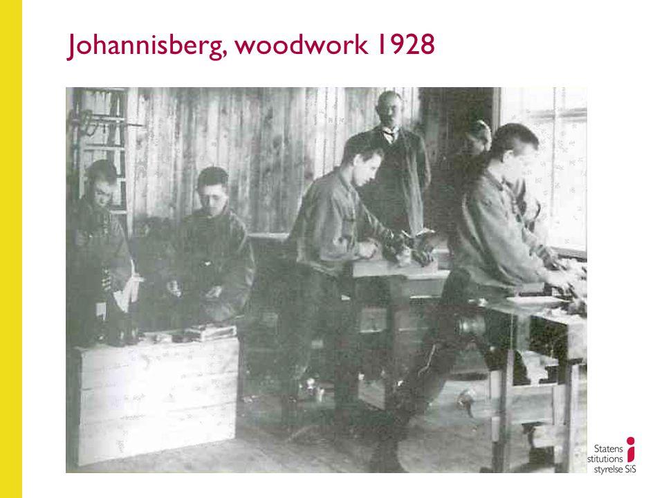 Johannisberg, woodwork 1928