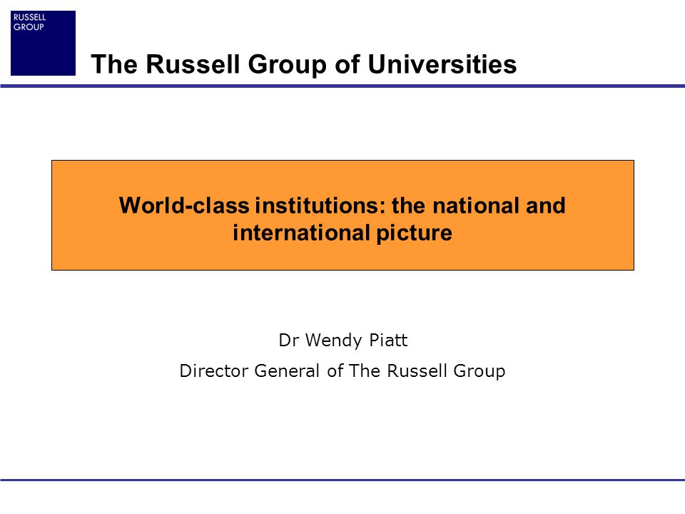 2 The Russell Group of Universities University of Birmingham University of Bristol University of Cambridge Cardiff University University of Edinburgh University of Glasgow Imperial College London King's College London University of Leeds University of Liverpool London School of Economics and Political Science University of Manchester University of Newcastle University of Nottingham Queen's University Belfast University of Oxford University of Sheffield University of Southampton University College London University of Warwick
