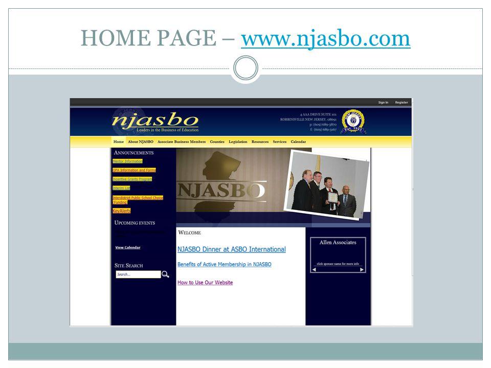 HOME PAGE – www.njasbo.comwww.njasbo.com