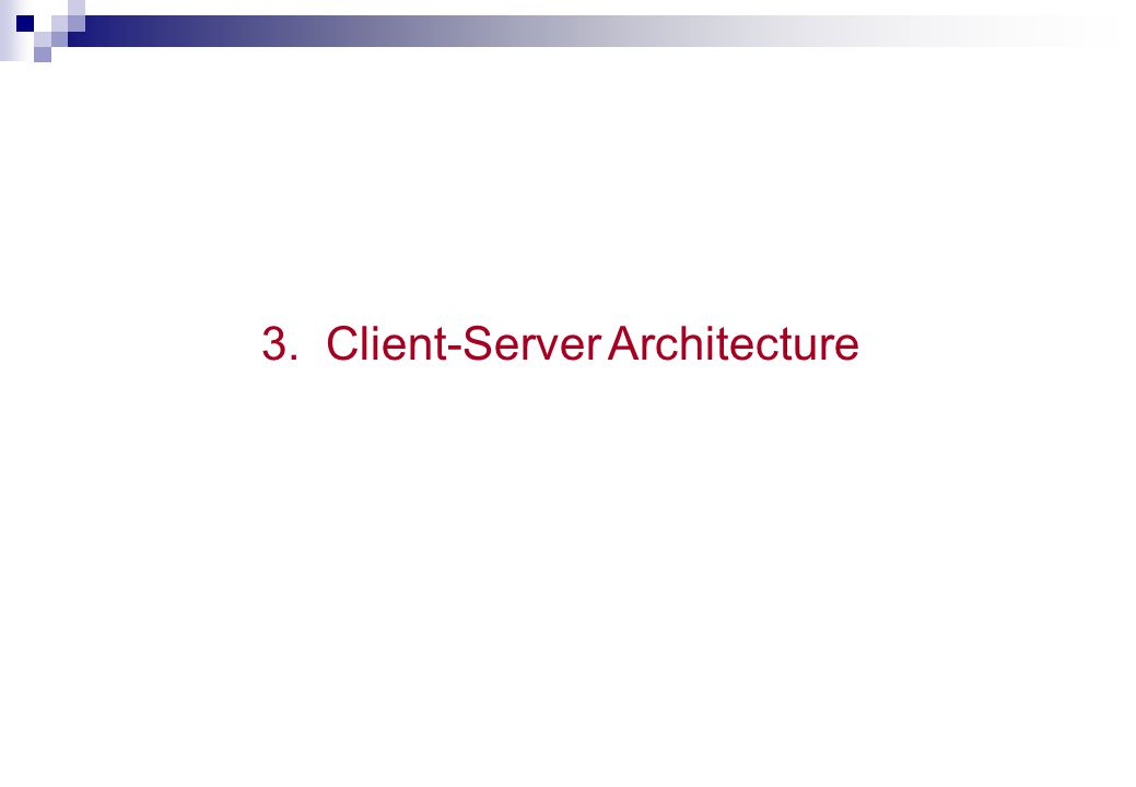 Classification of DBMSs Mainframe (host-based) DBMSs PC-Based DBMSs  Single user  File/Server Client-Server Database Systems Distributed DBMSs
