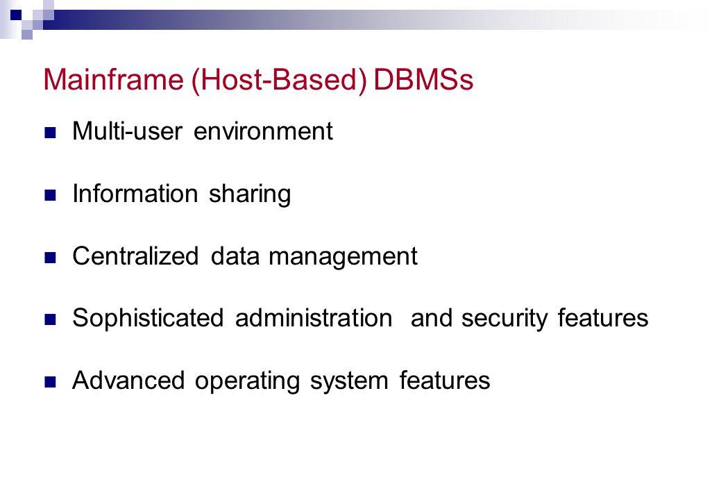 Two-Tier Client/Server Architecture