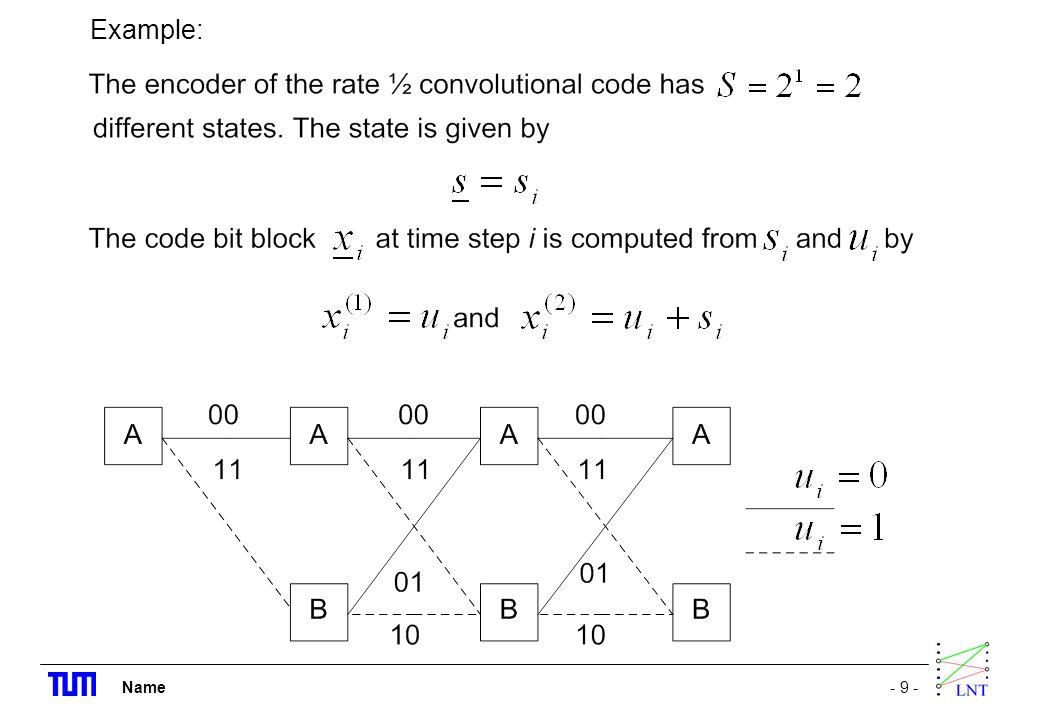 Name- 9 - Example: