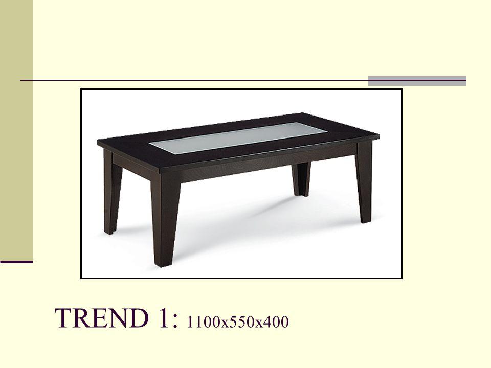 TREND 1: 1100x550x400