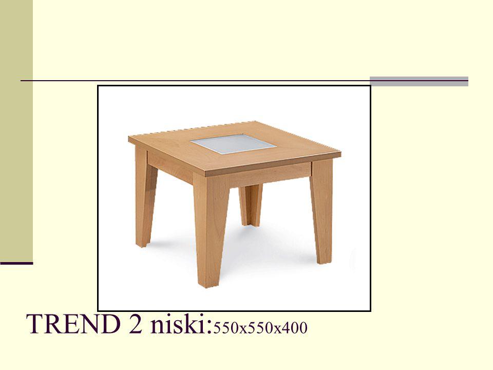 TREND 2 niski: 550x550x400