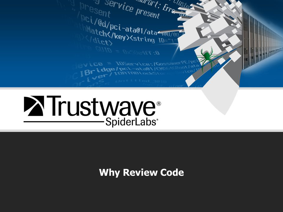 Why Review Code