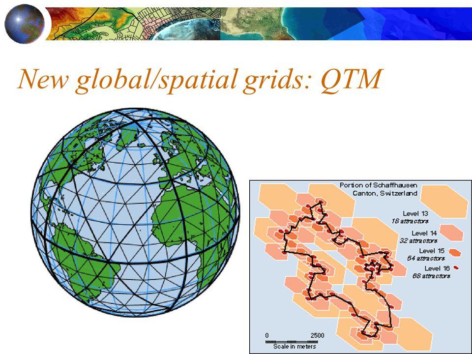 New global/spatial grids: QTM