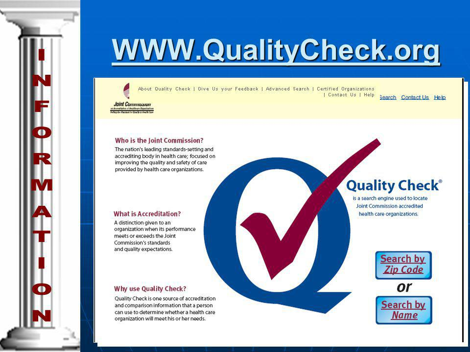 WWW.QualityCheck.org