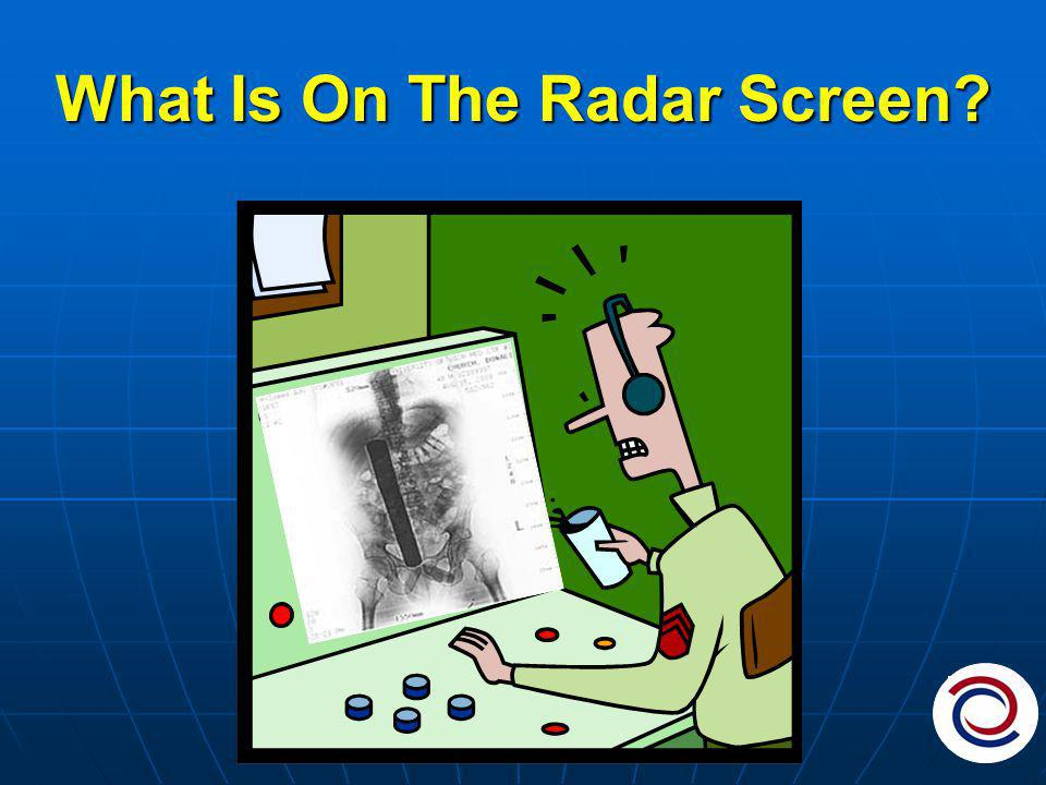 What Is On The Radar Screen
