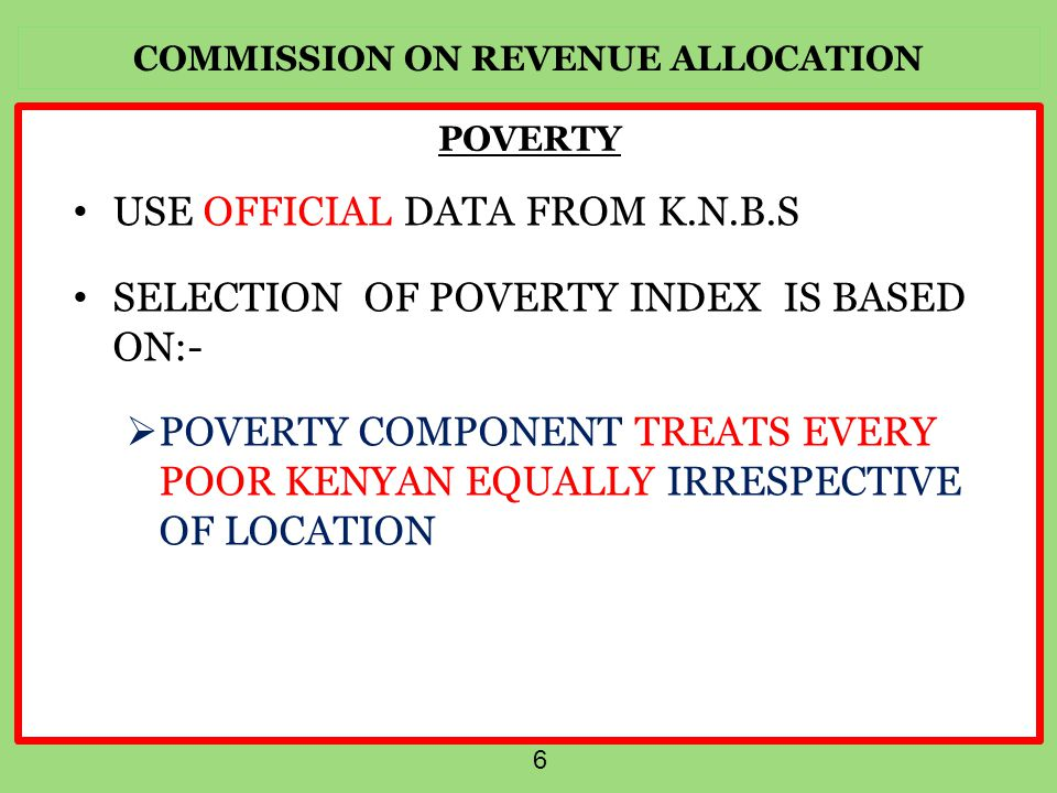 COMMISSION ON REVENUE ALLOCATION THANK YOU 17