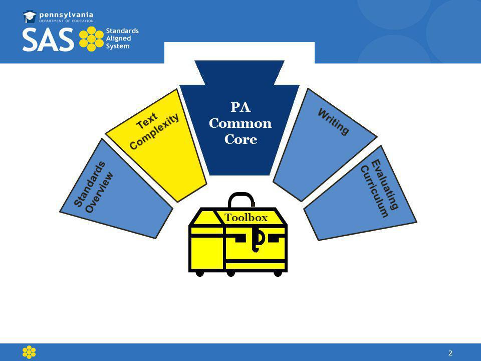 PA Common Core Toolbox 2