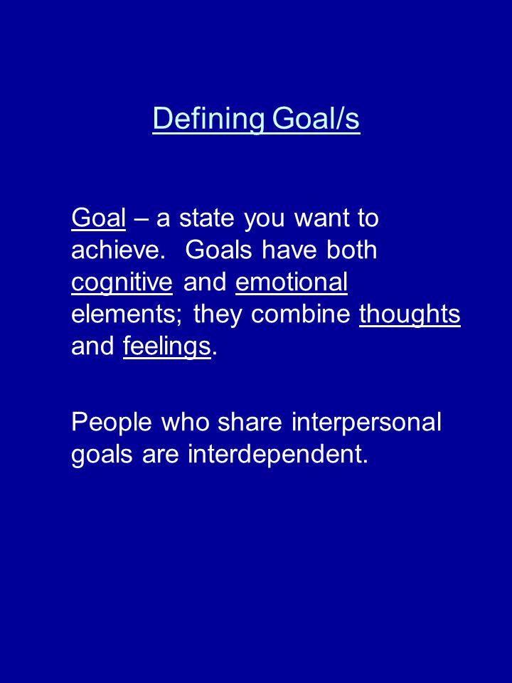 Assumptions Continued… Assumption 4: Interpersonal Communication is strategic.