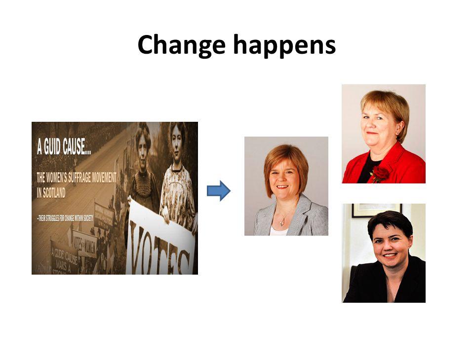 Change is possible – I've seen it.