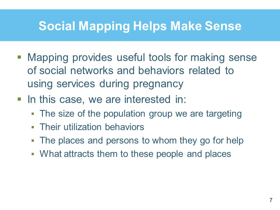 Mapping Is Not Just about Locations  When community members are involved in mapping, they learn more about the problems and resources in their community  They can visualize service quality issues like access and equity  What can you tell about the community from this map.