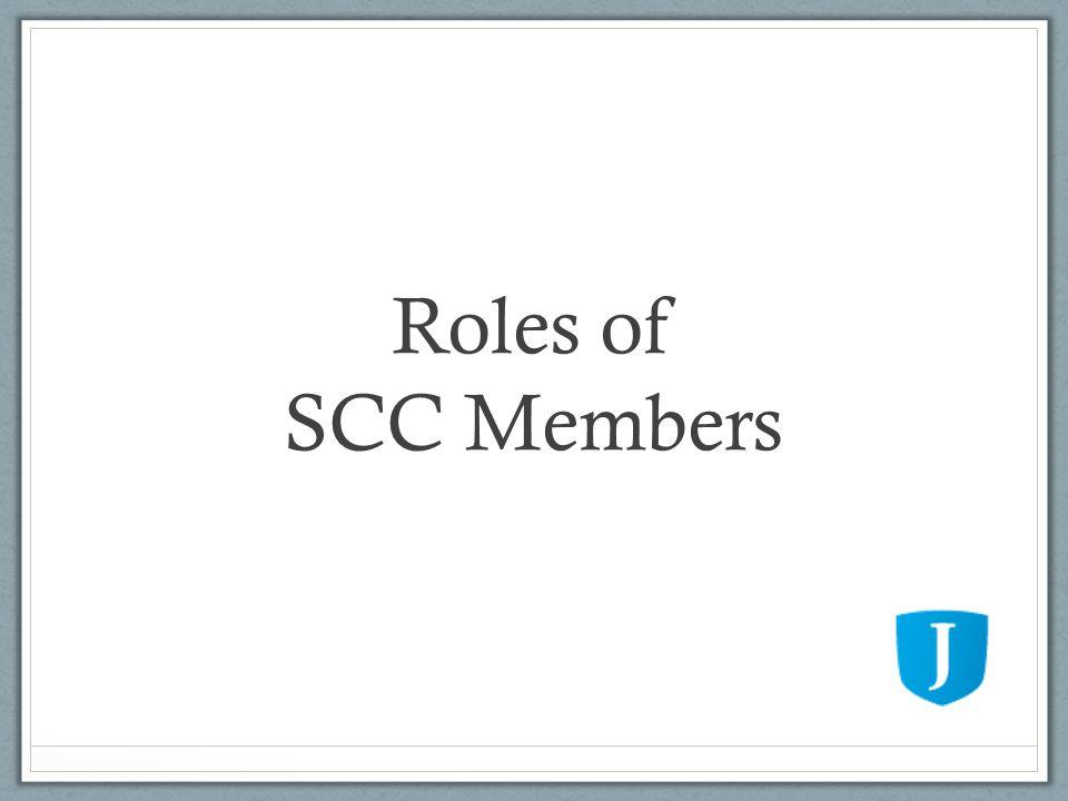 Roles of SCC Members