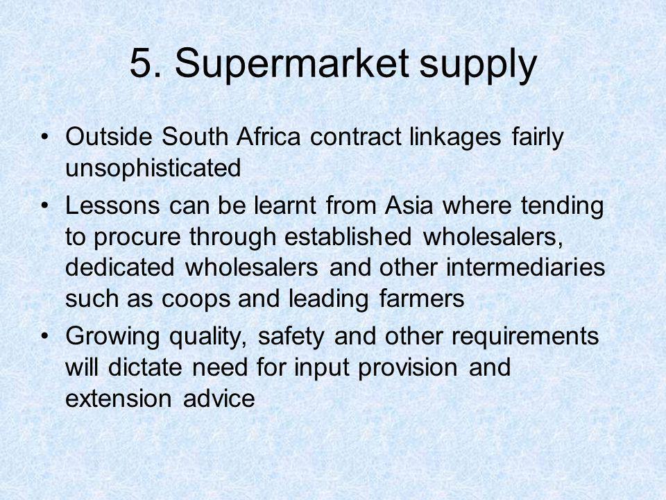 Freshmark - Uganda Individual farmers provide samples and Freshmark visits farms.