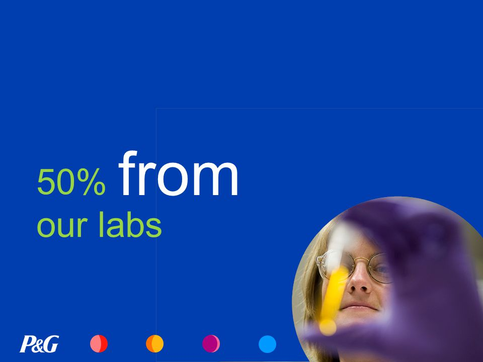 50% our labs from