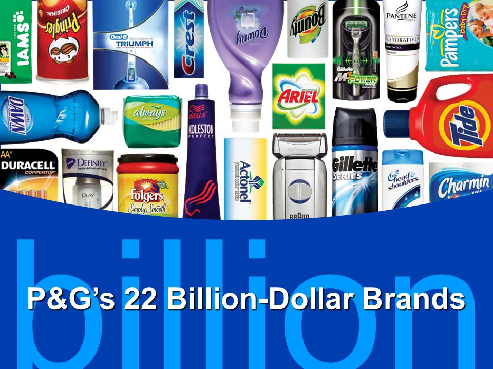 P&G…the world's largest consumer packaged goods companyP&G…the world's largest consumer packaged goods company Inside P&G's innovation journeyInside P&G's innovation journey Inside P&G Pharmaceuticals' new innovation strategyInside P&G Pharmaceuticals' new innovation strategy Agenda