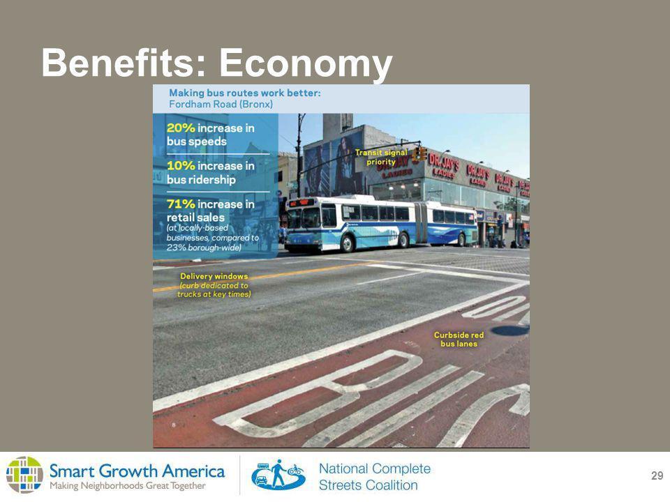 Benefits: Economy 29