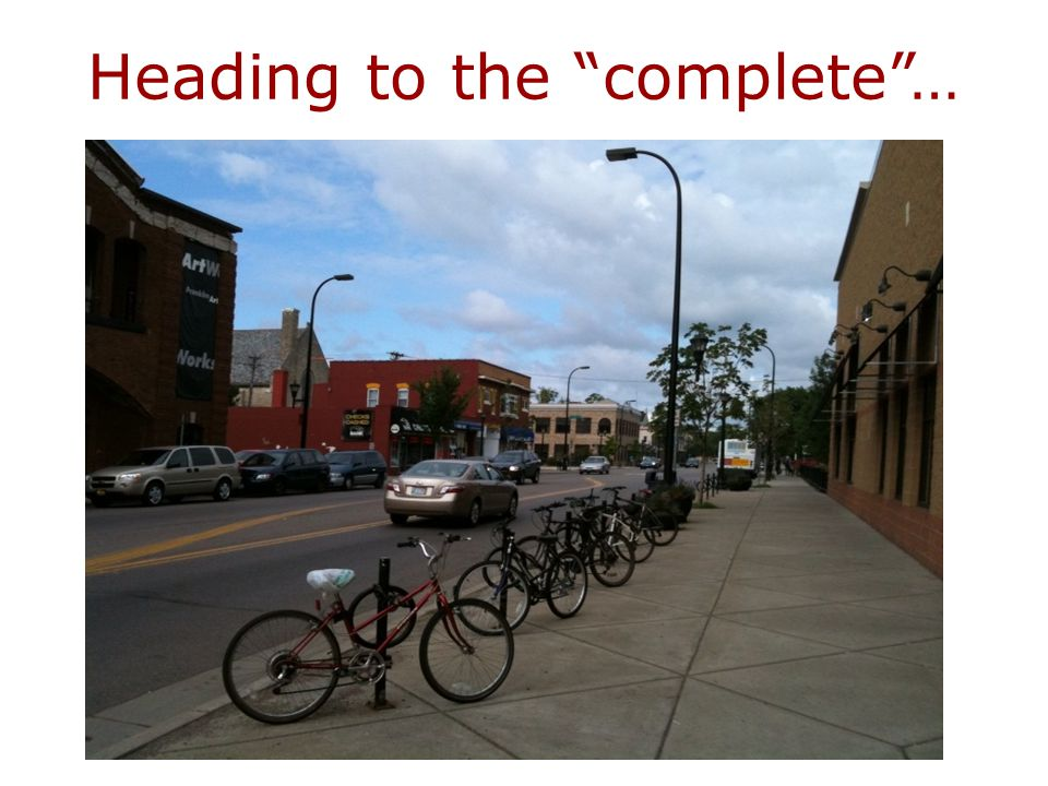 What is a Complete Streets policy.