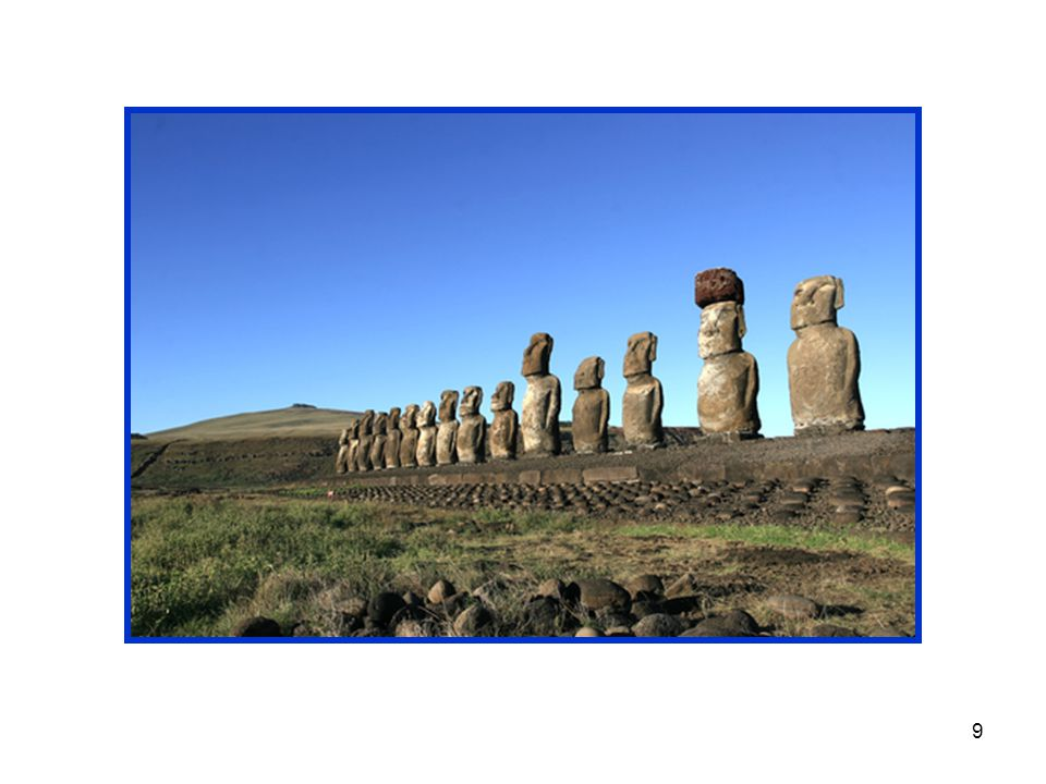 10 Walking among the gigantic moai, one can't help but be filled with questions.
