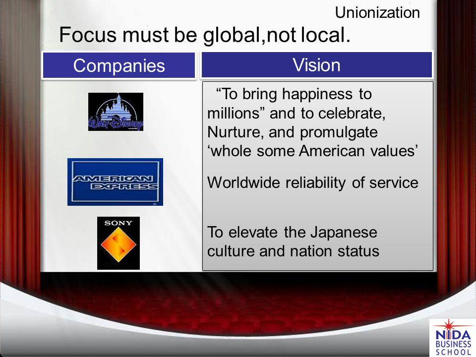 Unionization