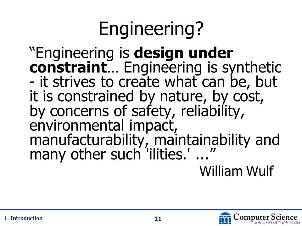 11 1. Introduction Engineering.