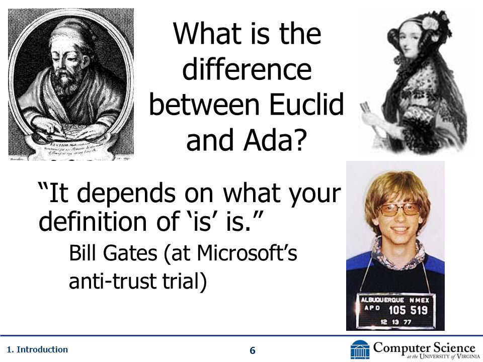 17 1.Introduction So, what is computer science.