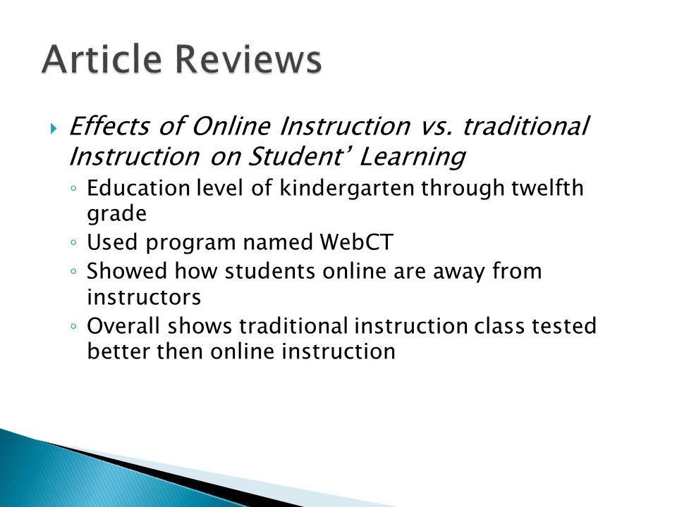 Two Methods for Assessing Critical Thinking in Computer Mediated Transcripts ◦ Used Practical Inquiry software ◦ Compared how students use critical thinking on two different softwares ◦ Used Practical Inquiry more successfully