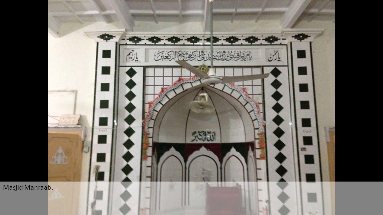 Masjid Mahraab.