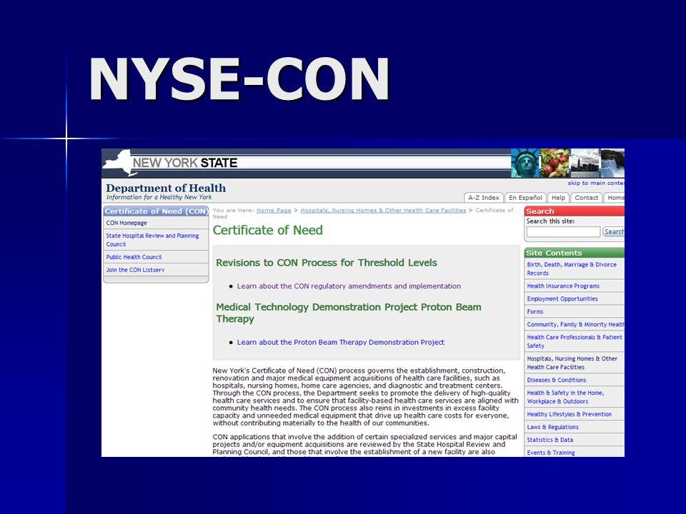 NYSE-CON