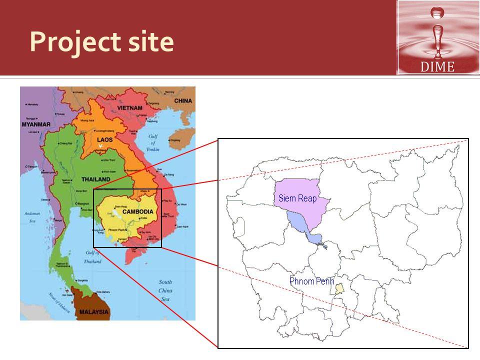 Siem Reap background  Provincial Profile  Land area: 12,000 sq.