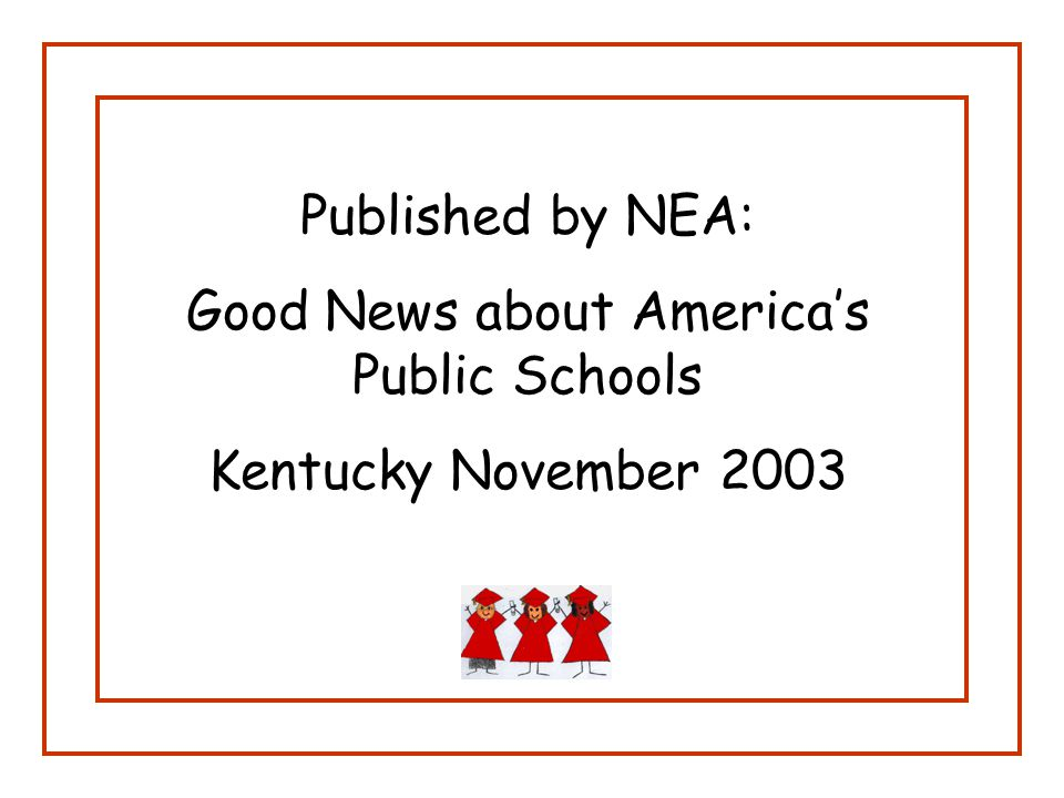 Parents Need to Be More Involved: Parents in Kentucky need to be more involved in their children's education.